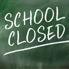 School Closed - March 16 - 20 , 2020