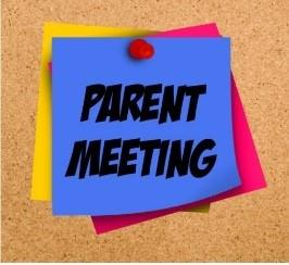 Parent Meeting - Dec. 19